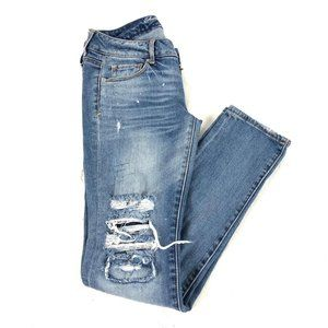 Women's American Eagle distressed skinny Stretch